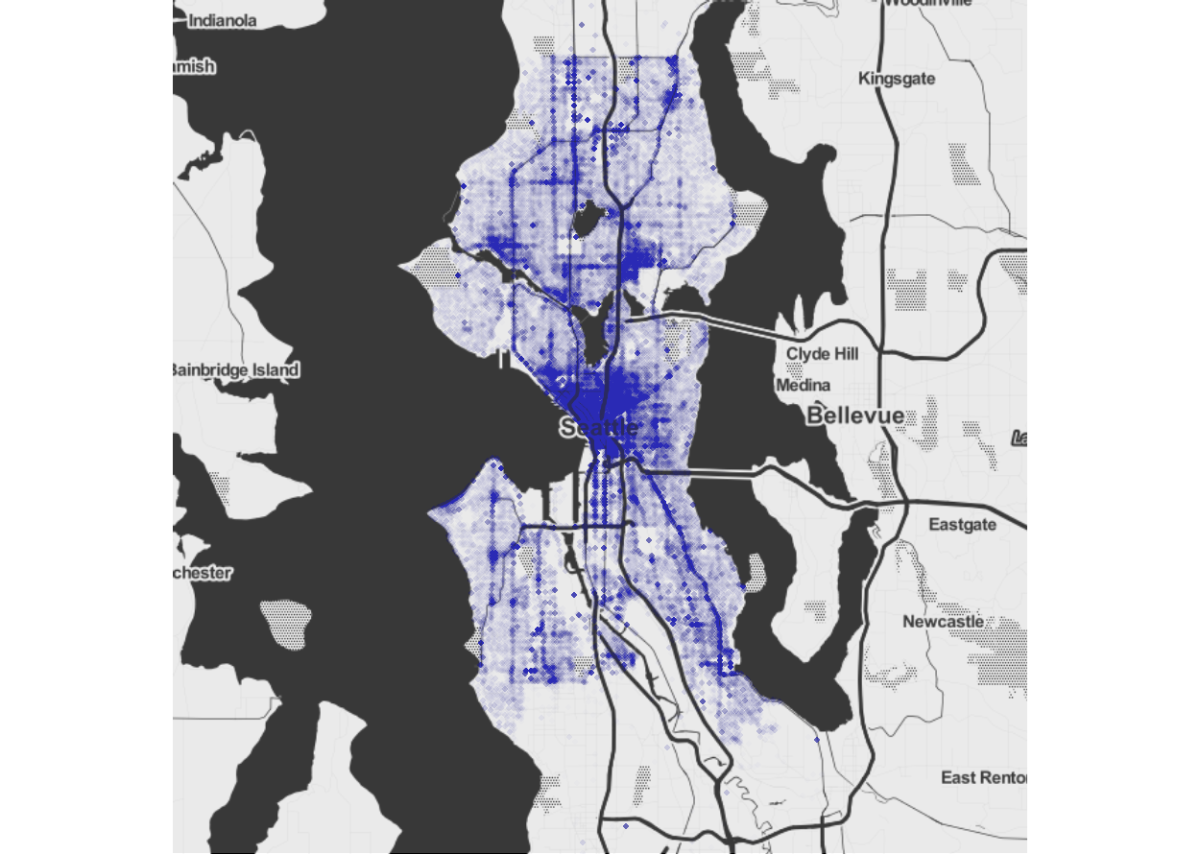 predicting and plotting crime in seattle